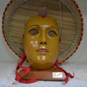 Maschera Sartiglia Del Gremio Dei Contadini In Resina