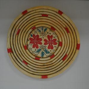 Piatto Campidanese In Ceramica