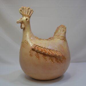 Gallinella In Ceramica Sarda- Ceramiche Farci