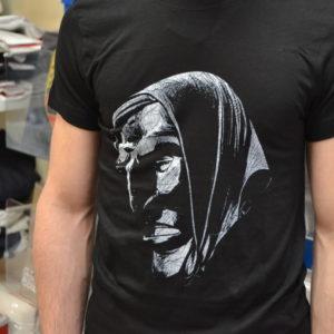 T-Shirt Stampa Maschere Sarda