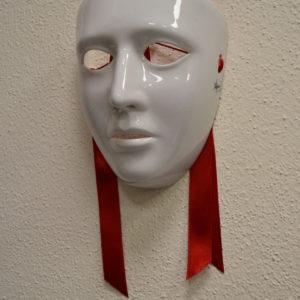 Maschera Sartiglia Bianca