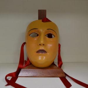 Maschera De Su Componidori Del Gremio Di San Giovanni In Ceramica