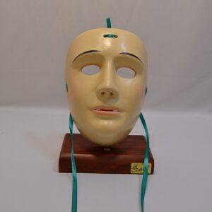 Maschera De Su Componidori Del Gremio Di San Giuseppe In Ceramica Di Manis