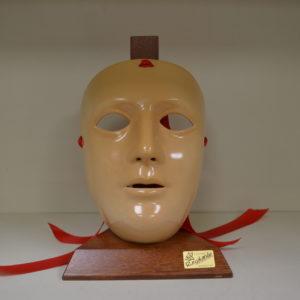 Maschera Sartiglia Color Cuoio