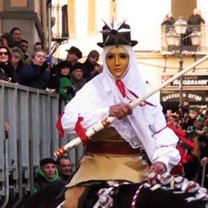 Su Stoccu Per La Sartiglia Del Gremio Dei Contadini