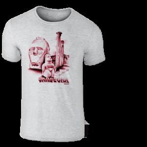 T-Shirt Stampa Giganti Di Mont' E Pramma