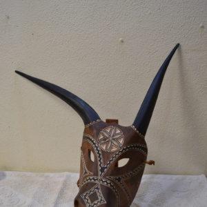 Maschera Boes Di Ottana Dipinta