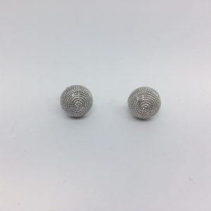 Orecchini Con Corbule In Filigrana D'argento