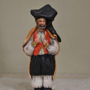 Statuina Uomo Con L'abito Tradizionale Sardo