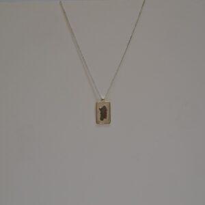 Collana Con Ciondolo In Filigrana D'argento A Forma Di Sardegna