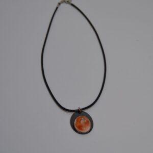 Collana Con Amuleto Occhio Di Santa Lucia