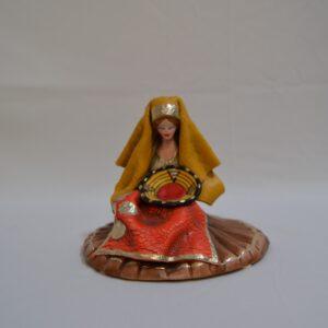 Donna Con L'abito Tradizionale Sardo