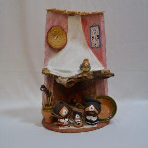 Natività Sarda In Ceramica