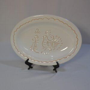Centrotavola Ovale In Ceramica
