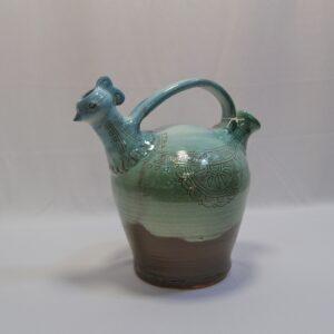 Gallinella In Ceramica Sarda CMA Oristano
