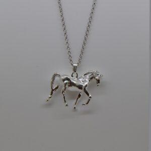 Ciondolo D'argento Cavallo In Argento Filu & Trama