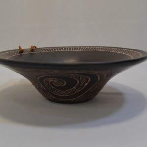 Vaso A Cestello In Ceramica Villa Abbas