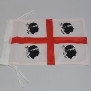 Bandiera Sardegna Quattro Mori 20 X 30 Cm