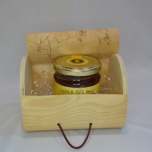 Cofanetto Con Miele All'eucalipto 250 Gr Artigianale Sardo