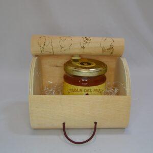 Cofanetto Con Miele All'arancia 250 Gr Artigianale Sardo
