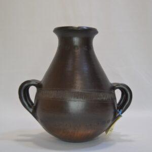Vaso Piriforme Nuragico In Ceramica Villa Abbas
