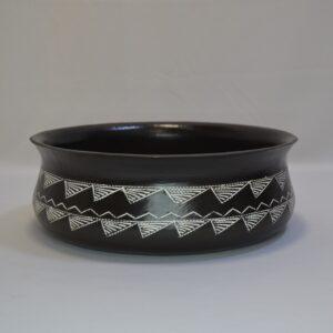 Scodellone Campaniforme In Ceramica Artistica Sarda Villa Abbas