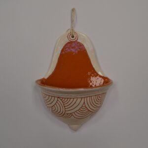 Acquasantiera In Ceramica Sarda Arte Di Rò