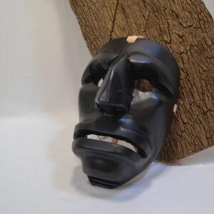 Maschera Mamuthones In Legno Indossabile Di Daniele Mameli Mamoiada