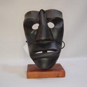 Maschera Mamuthones In Legno Sardegna